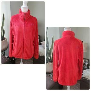 The north face women fleece jacket size XL